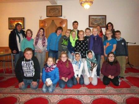 Besuch bei der türkisch-islamischen Gemeinde