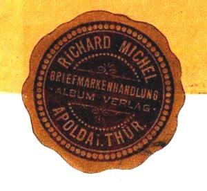 100 Jahre Michelkatalog Briefsiegel