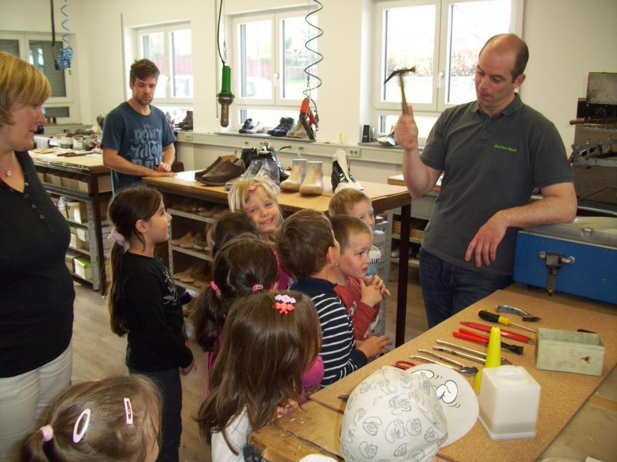 Schulanfänger des Kindergartens