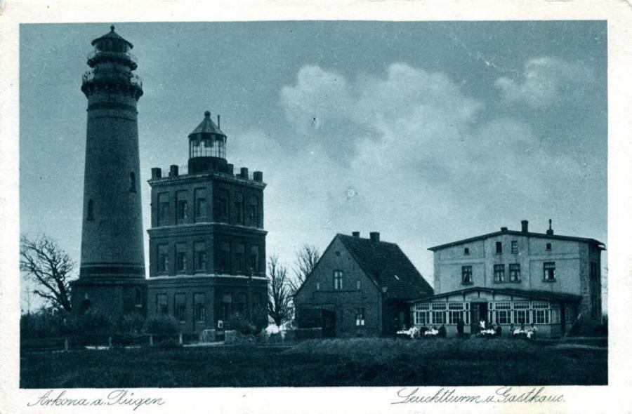 Arkona a. Rügen Leuchtturm u. Gasthaus