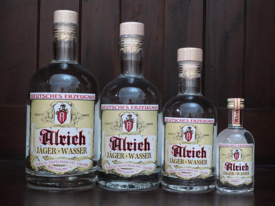 Alrich Jägerwasser - alle Größen, ©Stephan Becker, Brüssow