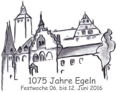 Logo 1075 Jahre Stadt Egeln