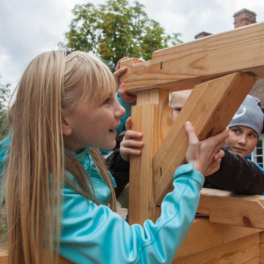 Komm wir bauen ein Spreewaldhaus_Freilandmuseum Lehde Foto- Peter Becker