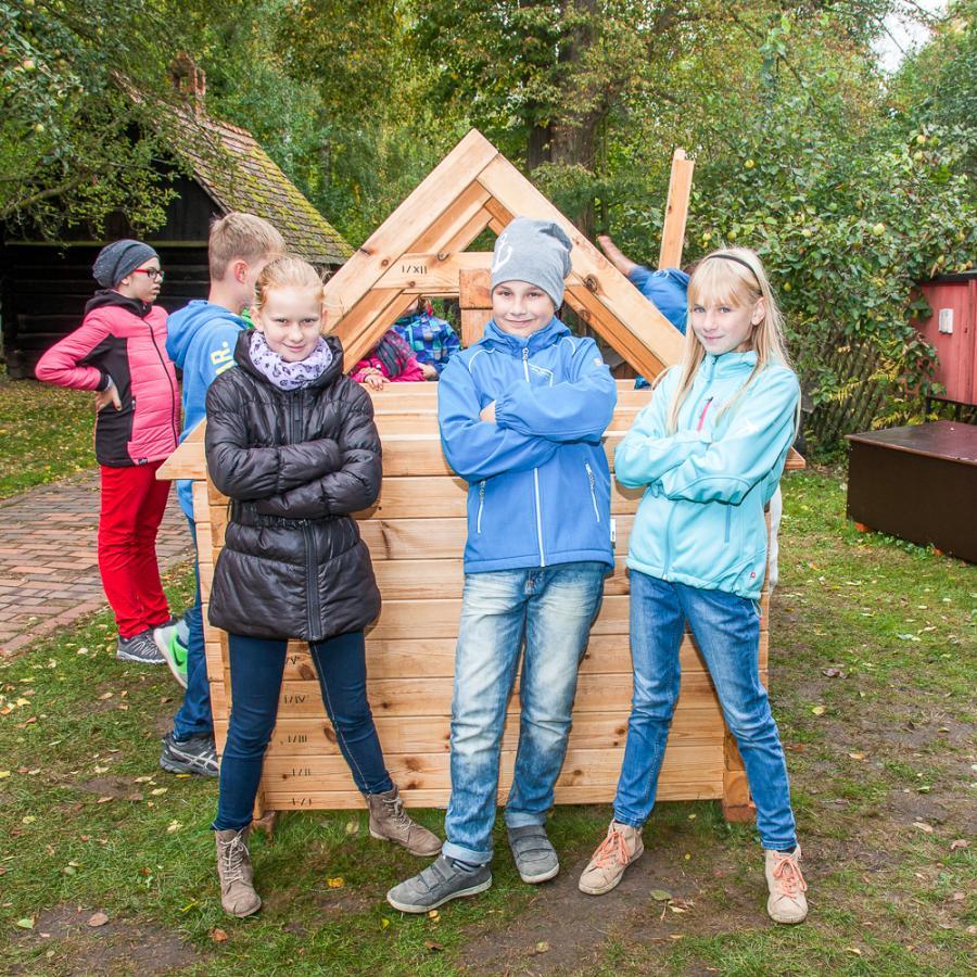 Komm wir bauen ein Spreewaldhaus_Freilandmuseum Lehde Foto: Peter Becker