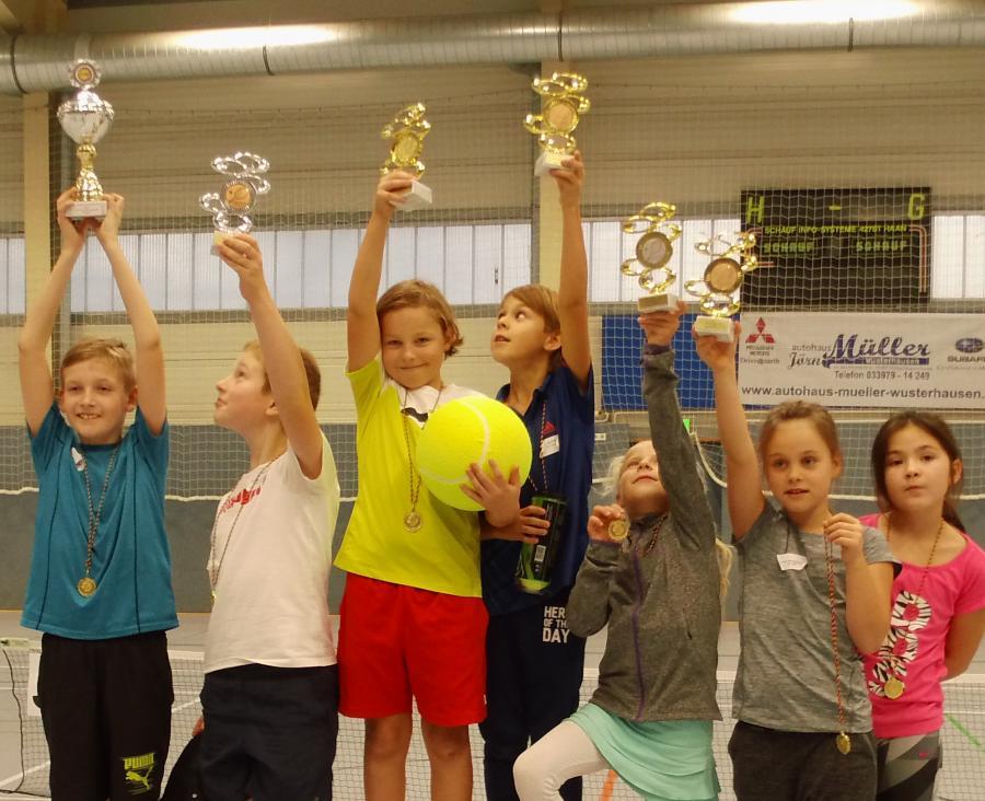 Siegerpokal für TC Frankfurt