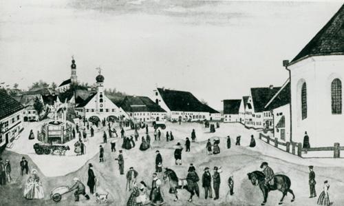 Salvatorkirche und Rathaus
