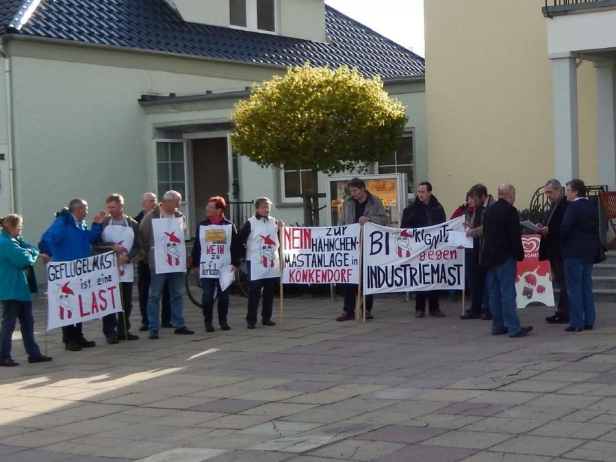 Protest bei Stadtverordneten