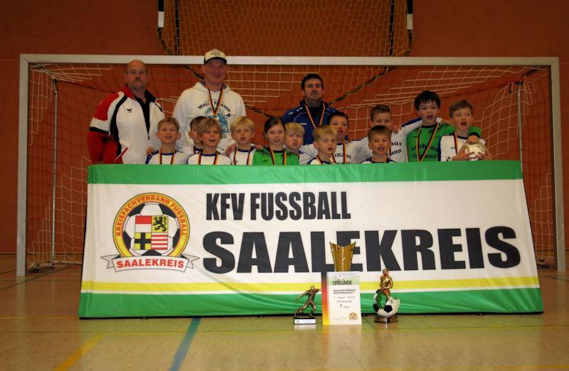 F-Junioren Hallenkreismeister