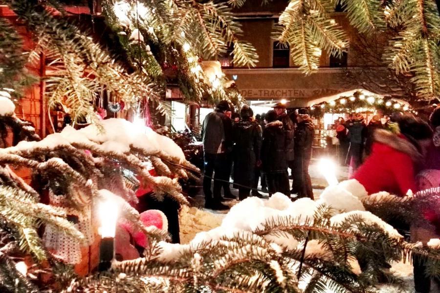 Internationaler Weihnachtsmarkt in Bayerisch Eisenstein