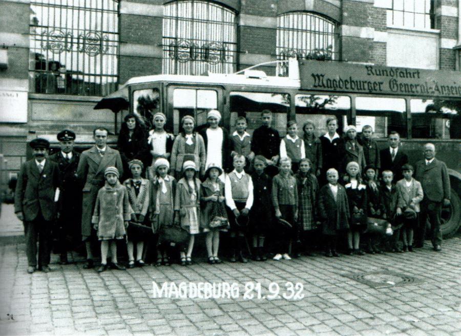 Schulausflug 1932