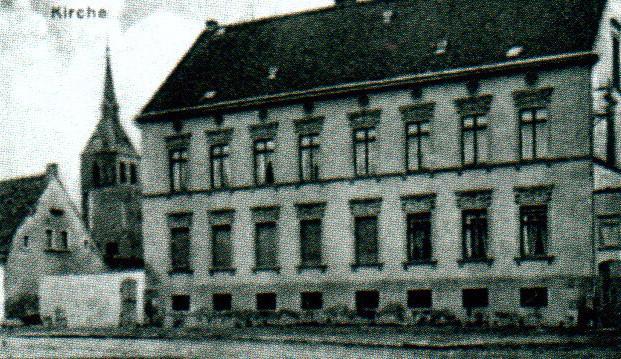 Dorfstaße Zens 1920