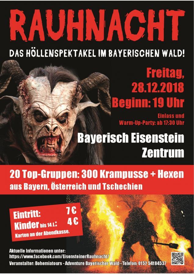 Plakat Eisensteiner Rauhnacht 2018