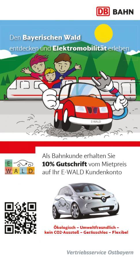 e-Bürgerauto - Kooperation mit der Deutschen Bahn