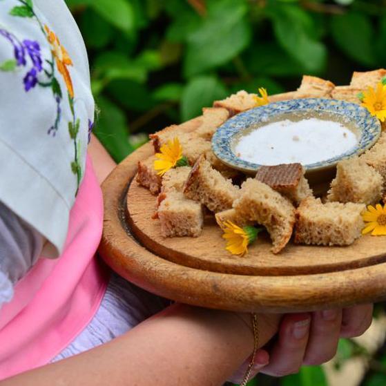 Begrüßung mit Brot und Salz Foto: Ingo Laue