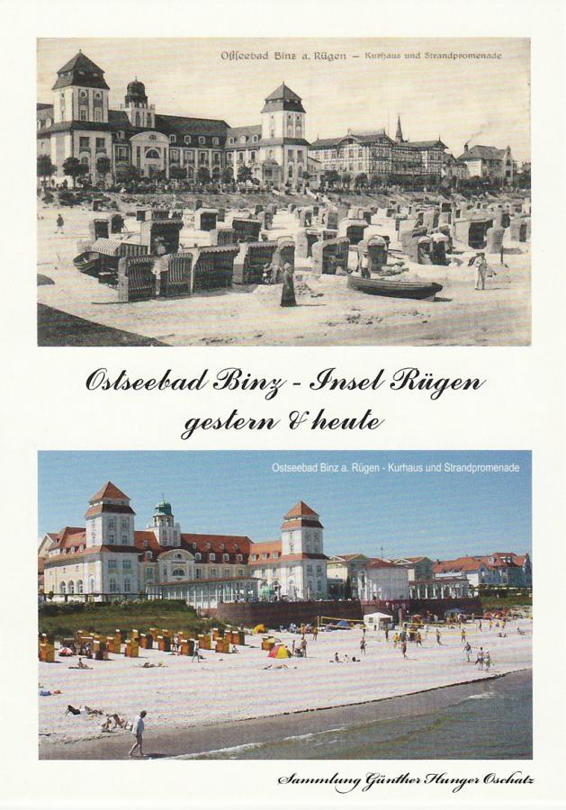 Kurhaus Binz – gestern & heute