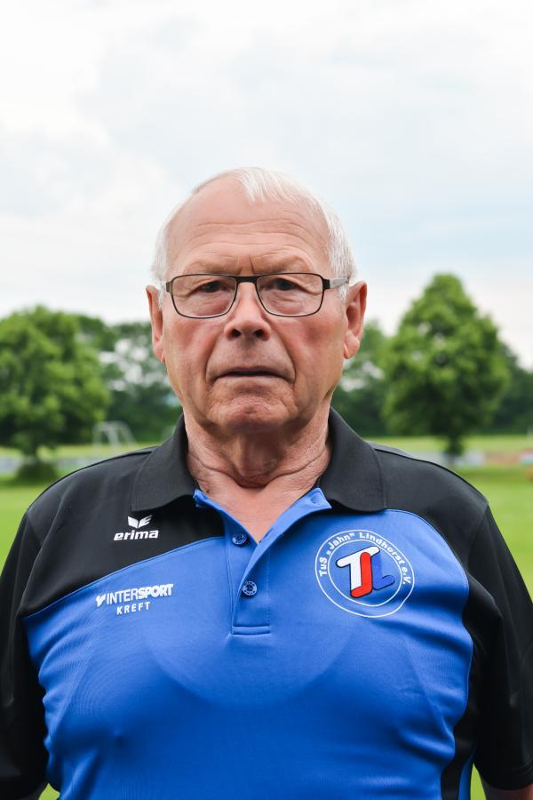 Gerätewart Willi Thürnau