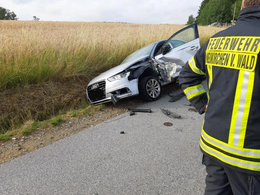 12.07.2019 Verkehrsunfall Klessing