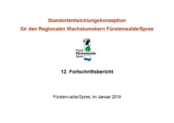 12. Fortschrittsbericht SEK Fürstenwalde 2019