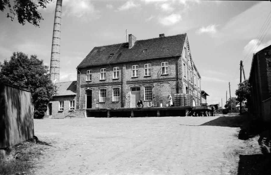 Die Molkerei westlich der Dargunerstraße im Juni 1979