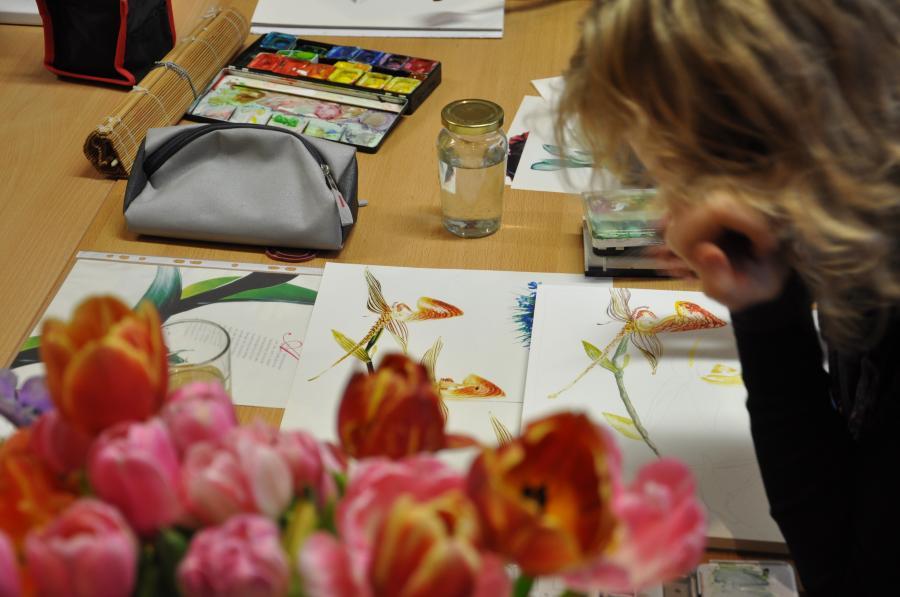 Kunstkurs in der URANIA