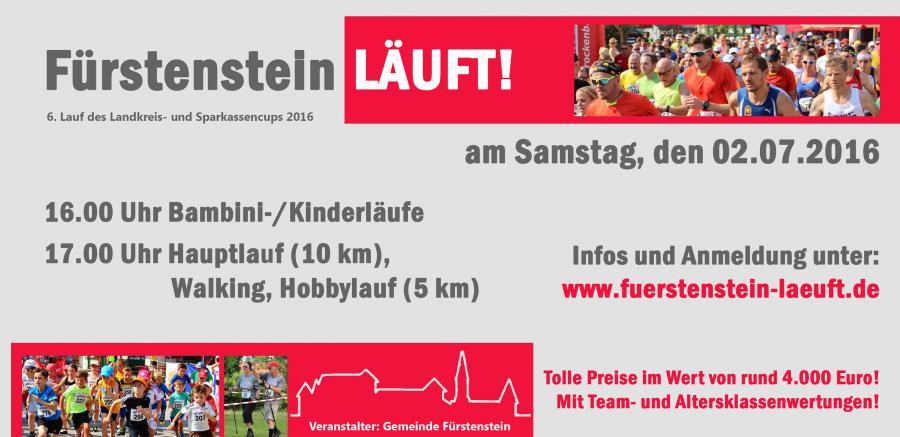 Fürstenstein Läuft 02.07.2016