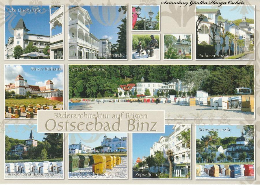 Ostseebad Binz - Bäderarchitektur