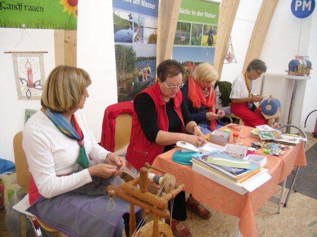 Netzener Landfrauen auf der BUGA