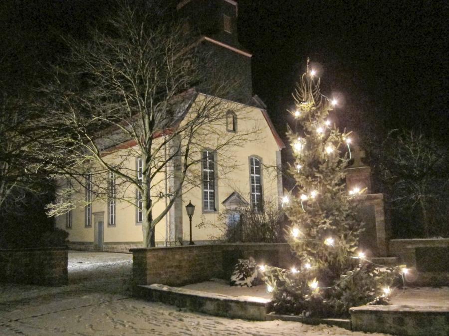 Weihnachtsstimmung in Mecklar