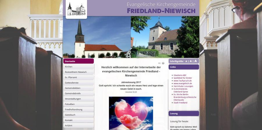 ev. Kirchengemeinde Friedland-Niewisch