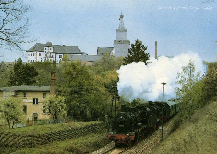 Museumslokomotiven 38 205 u 381182