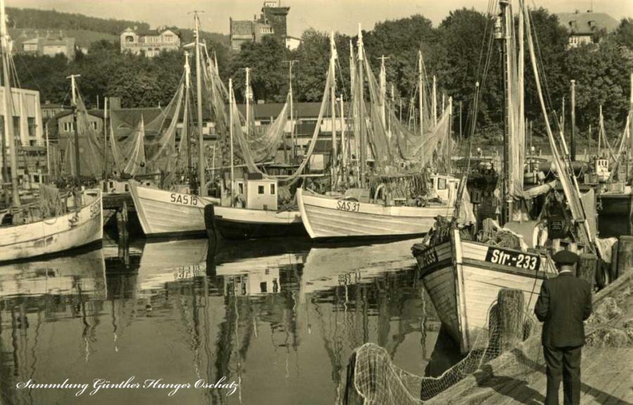 Ostseebad Saßnitz Fischereihafen