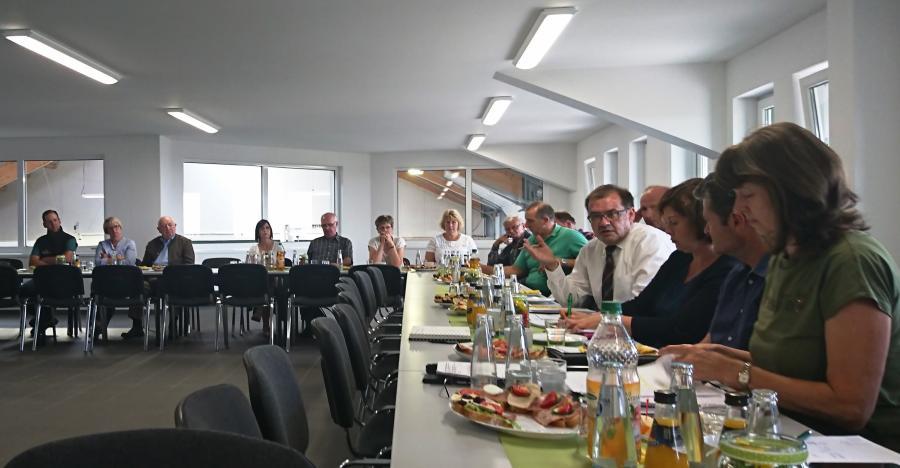 Erweiterte Vorstandssitzung im Milchgut Görlsdorf