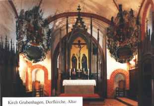 Altar der Dorfkirche