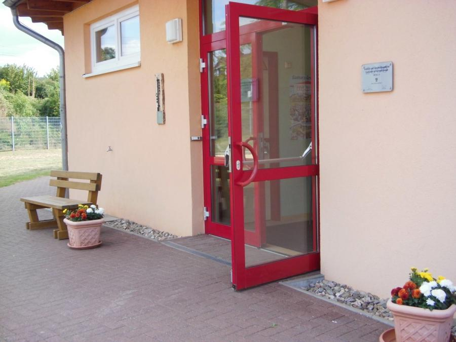 Eingangstür