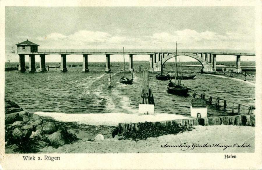 Wiek a. Rügen Hafen