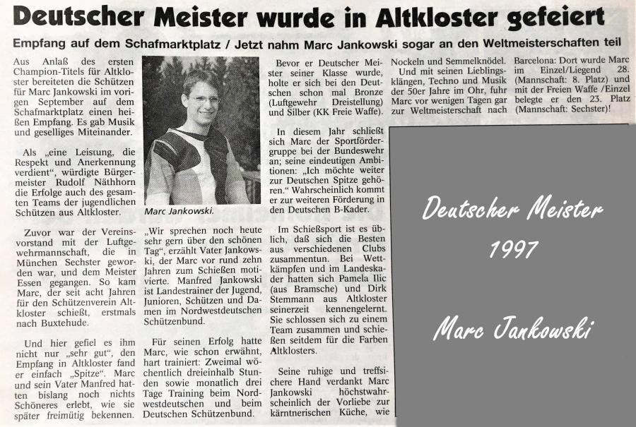 Deutscher Meister 1997