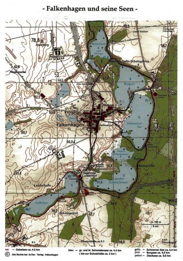 Falkenhagen und seine Seen