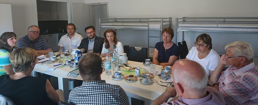 Beratung mit Jana Schimke zum Thema Saisonarbeitskräfte