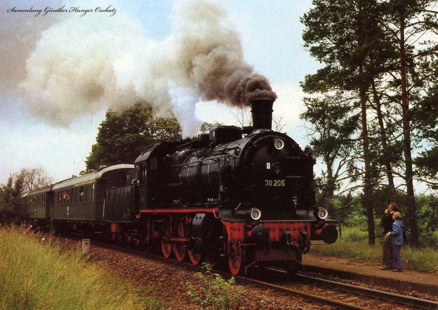 Dampflokomotiven im Ostseebezirk  Br 38 2