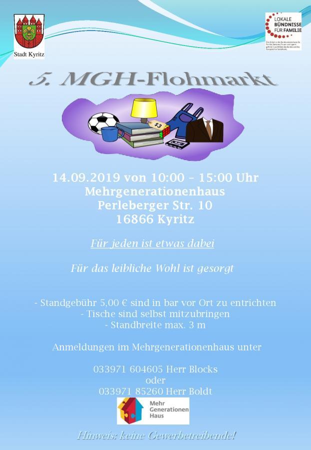 5. MGH-Flohmarkt