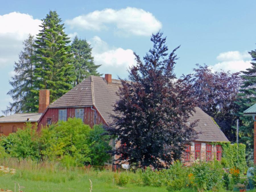 Das frühere Forsthaus in Gülitz