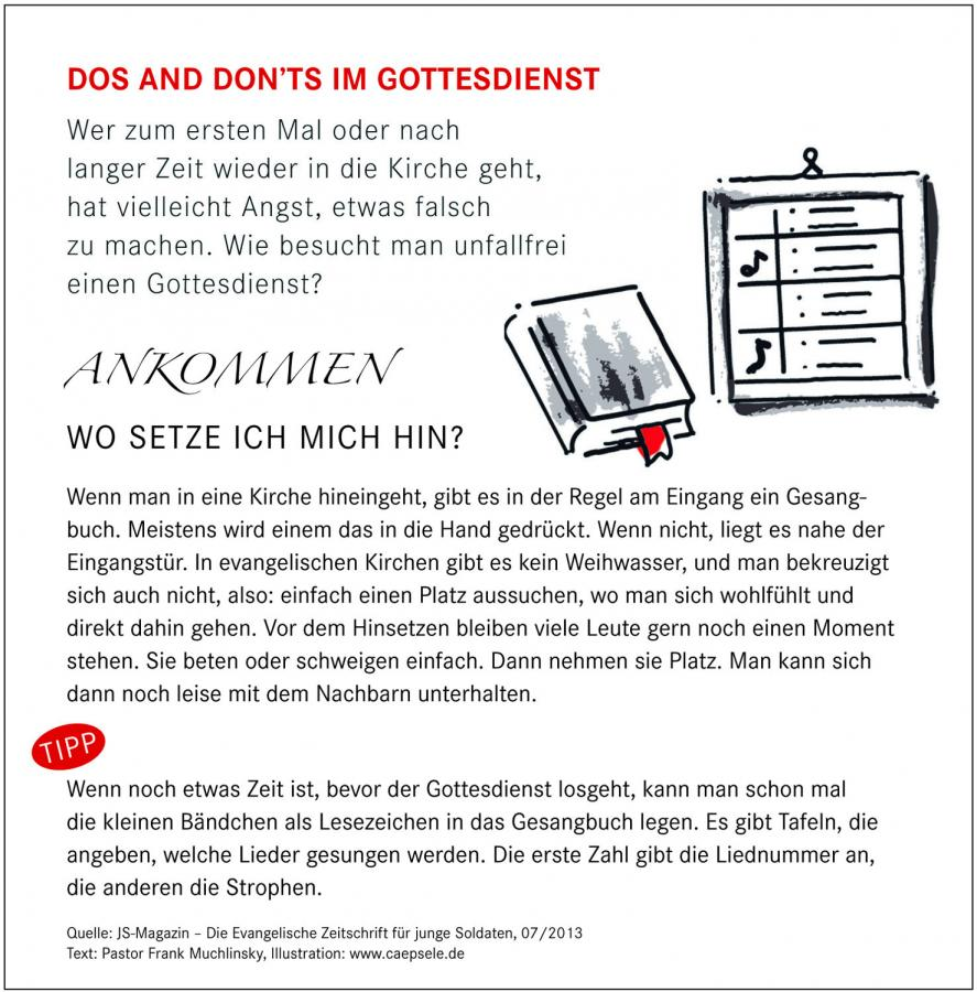 Do´s and Dont´s Teil 2