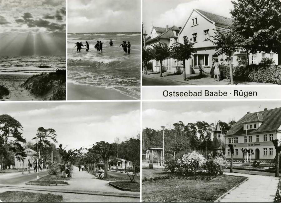 14 Ostseebad Baabe-Rügen 1980
