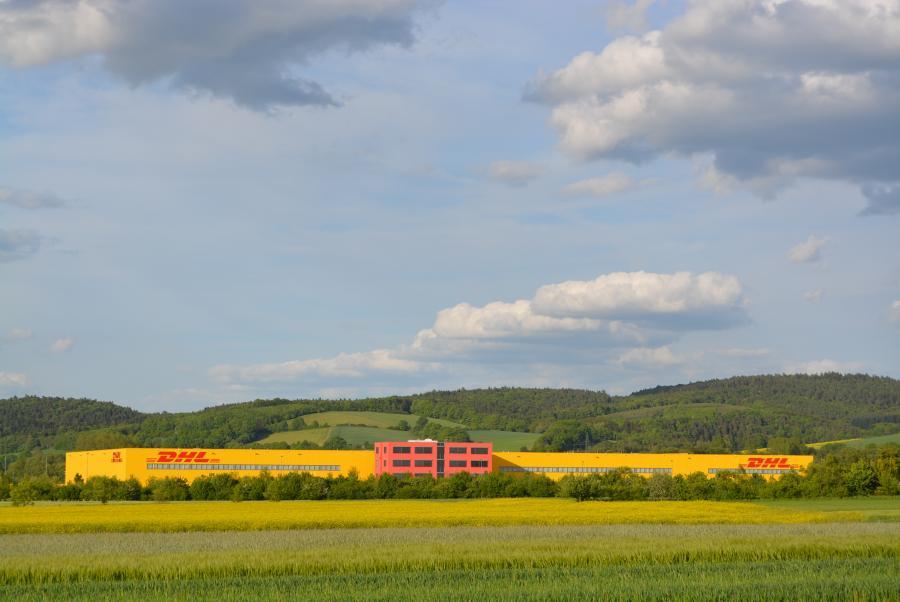 DHL im UnternehmensPark Bad Hersfeld-Ludwigsau