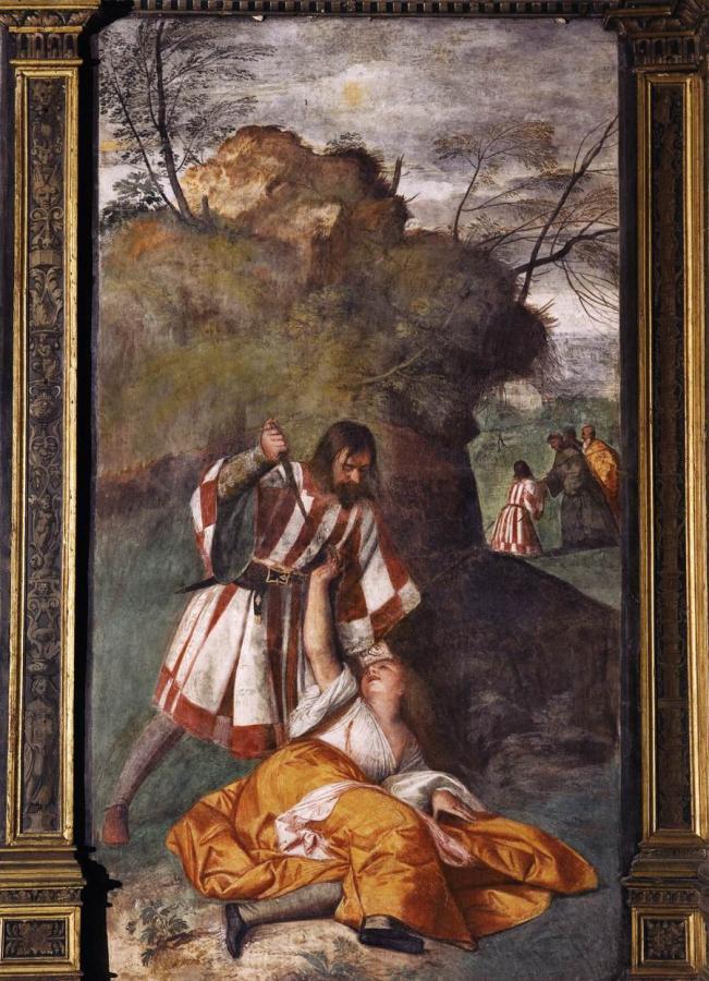 Tizian: Das Wunder des eifersüchtigen Ehemannes