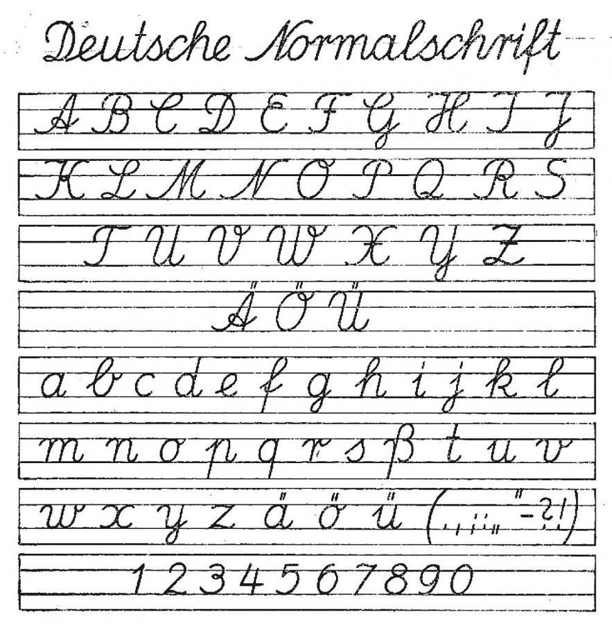 15-3-27 Deutsche_normalschrift