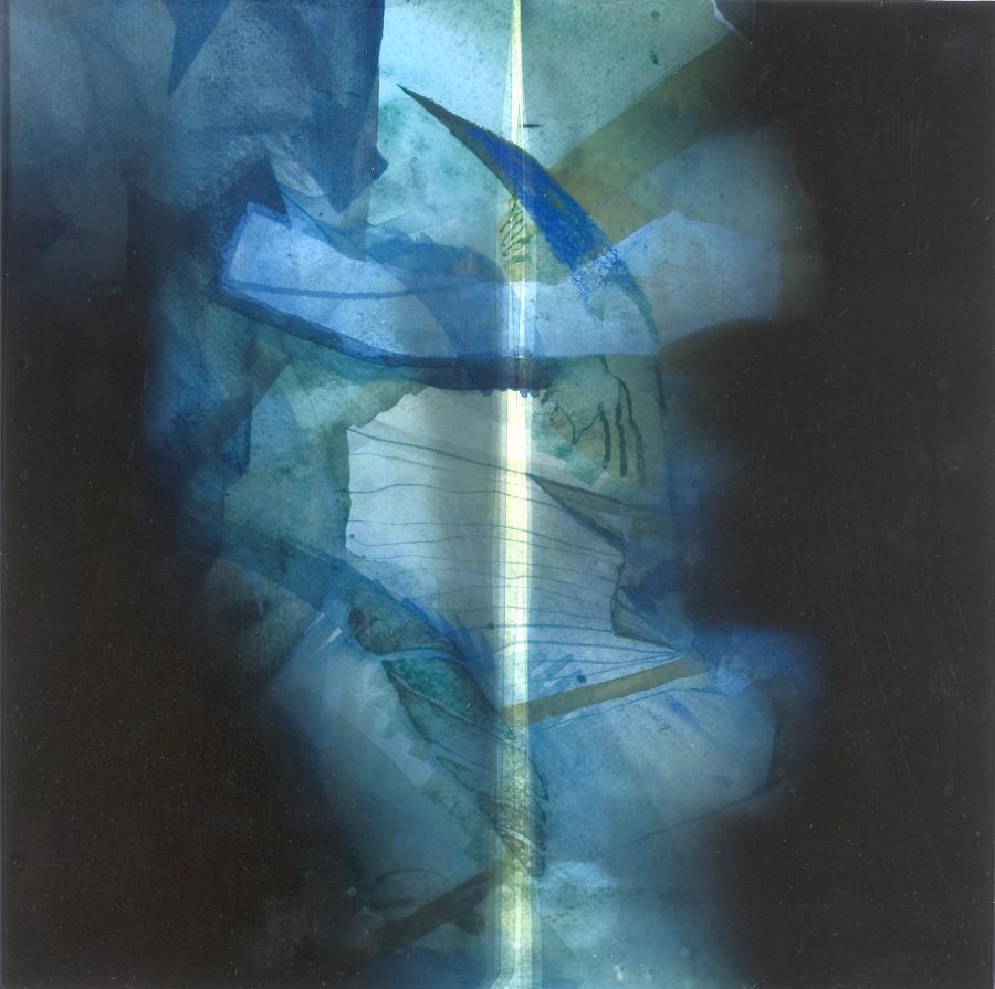 Bild: o.T., Mischtechnik, 2003. Foto: Angelika Weidling