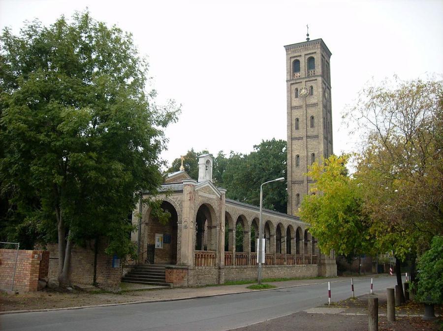 Die Kirche zu Bornstedt