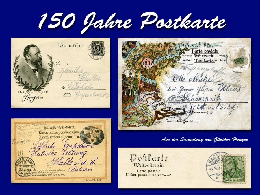 150 Jahre Postkarte