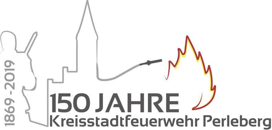 Logo 150 Jahre FF Perleberg